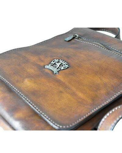Pratesi Vinci cross-body bag - B283 Bruce Coffee