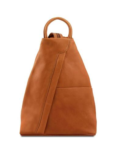 Tuscany Leather - Shanghai - Zaino in pelle morbida Cognac - TL140963/6