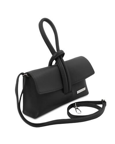 Tuscany Leather TL Bag Pochette in pelle Nero - TL141990/2