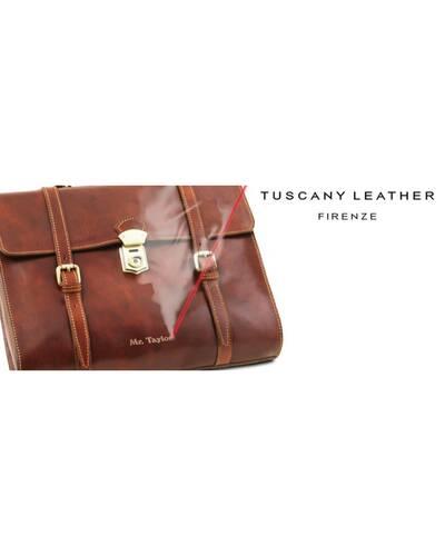 Personalizzazione con incisione a Laser per articoli Tuscany Leather