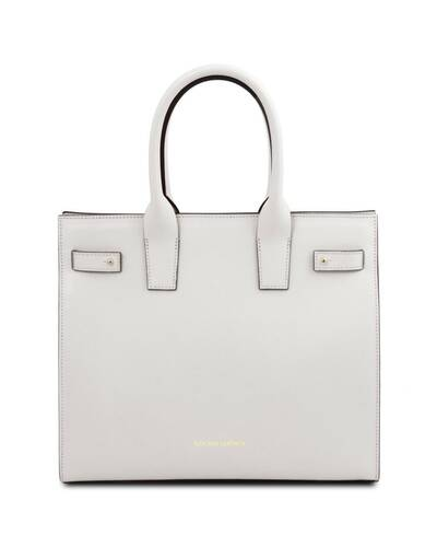 Tuscany Leather Catherine - Borsa a mano in pelle Bianco - TL141933/11