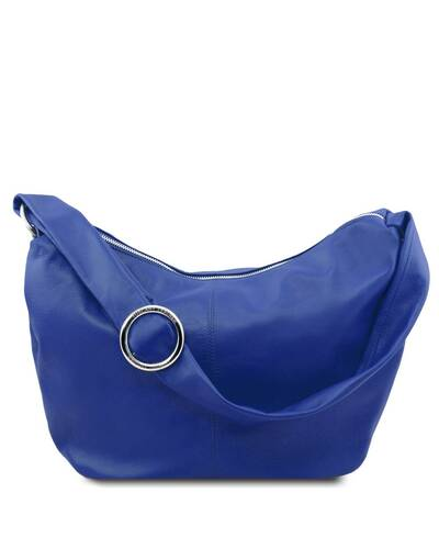 Tuscany Leather - Yvette - Borsa in pelle da donna Blu - TL140900/77