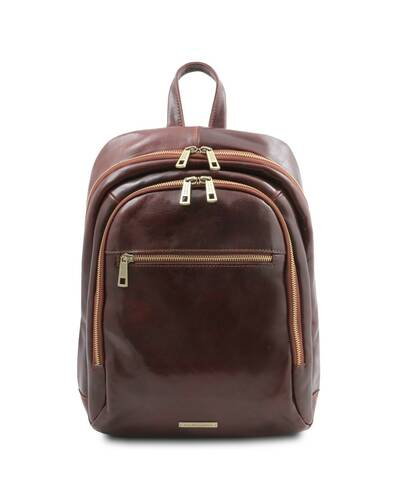 Tuscany Leather Perth - Zaino in pelle 2 scomparti Marrone - TL142049/1