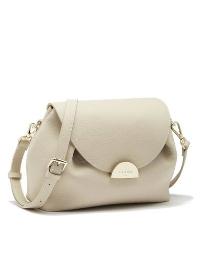 Fedon 1919 - Miranda - Shoulder bag for woman, Ivory - WB2010005/AVO