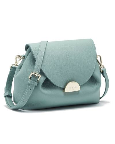 Fedon 1919 - Miranda - Shoulder bag for woman, Mineral blue - WB2010005/AQ