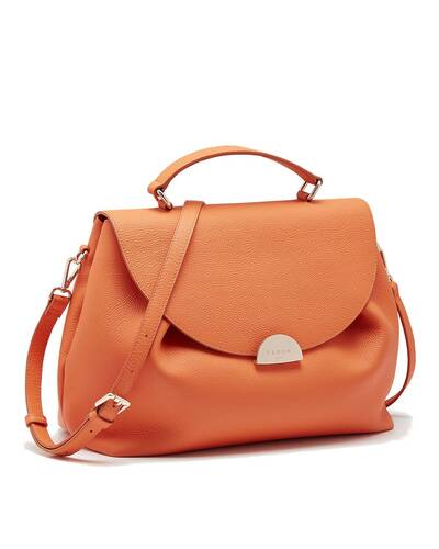 Fedon 1919 - Miranda - Handbag for woman, Orange - WB2010006/AR