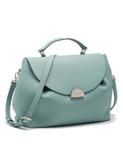Fedon 1919 - Miranda - Handbag for woman, Mineral blue - WB2010006/AQ