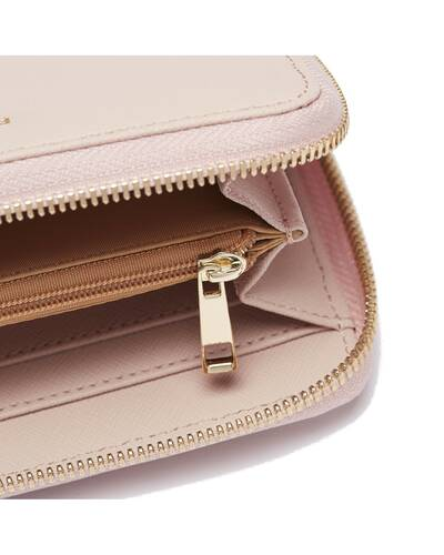 Fedon 1919 - Emily - Women's wallet in leather, Pink - WS2010001/ROS