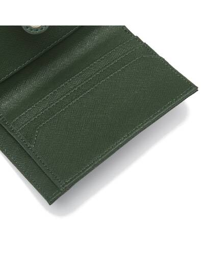 Fedon 1919 - Emily - Women's wallet with flap, Green - WS2010003/VE