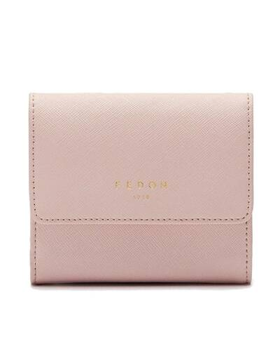 Fedon 1919 - Emily - Women's wallet with flap, Pink - WS2010003/ROS