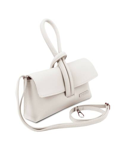 Tuscany Leather TL Bag Pochette in pelle Bianco - TL141990/11