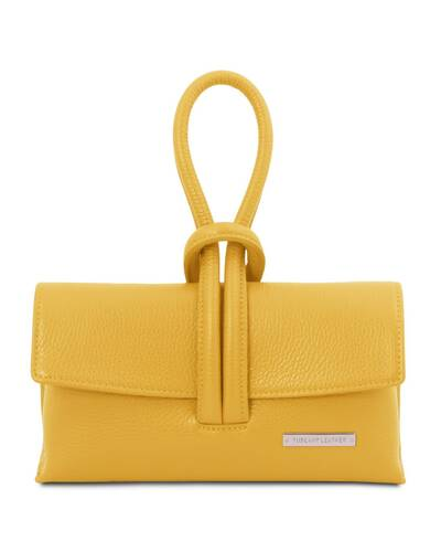 Tuscany Leather TL Bag Leather clutch Yellow - TL141990/25