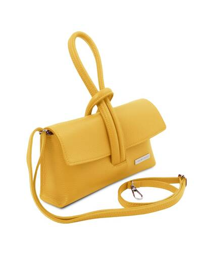 Tuscany Leather TL Bag Pochette in pelle Giallo - TL141990/25