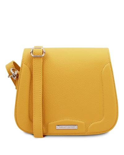 Tuscany Leather Jasmine - Borsa a tracolla in pelle Giallo - TL141968/25