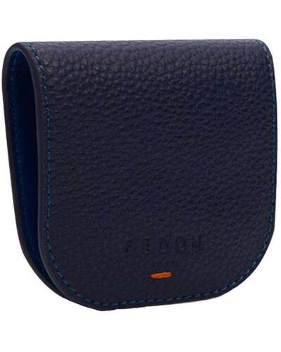 Fedon 1919 - Nelson - Leather's coin purse, Blue - MS1930004/BLU