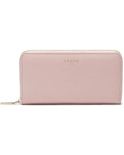 Fedon 1919 - Emily - Large 2 compartment wallet with zip, Pink - WS2010000/ROS