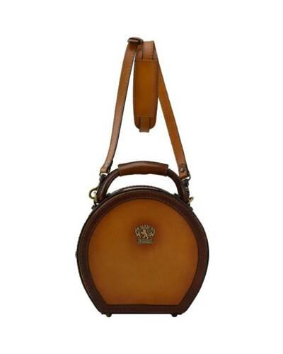 Pratesi Cappello Hat box (small size) - B400/23 Bruce Cognac