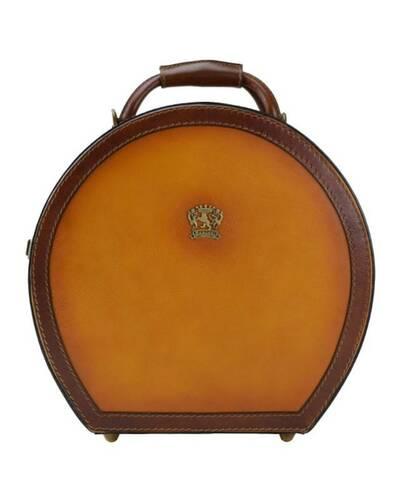 Pratesi Cappello Hat box (medium size) - B400/35 Bruce Cognac