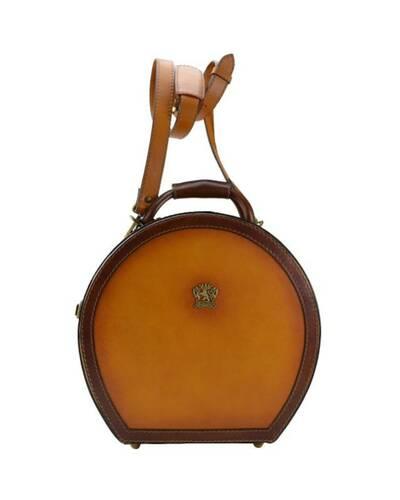 Pratesi Cappello Borsa a tracolla portacappello (medium) - B400/35 Bruce Cognac