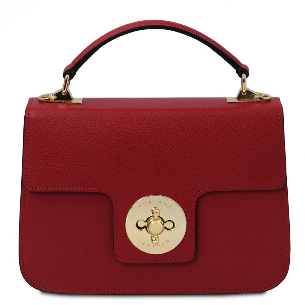 Tuscany Leather TLBag - Borsa a mano in pelle Rosso - TL142078/4