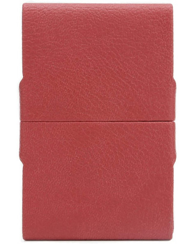 Fedon 1919 - Charme - Rigid Leatherette Credit/Business Card Holder, Red - UO1930004/RO