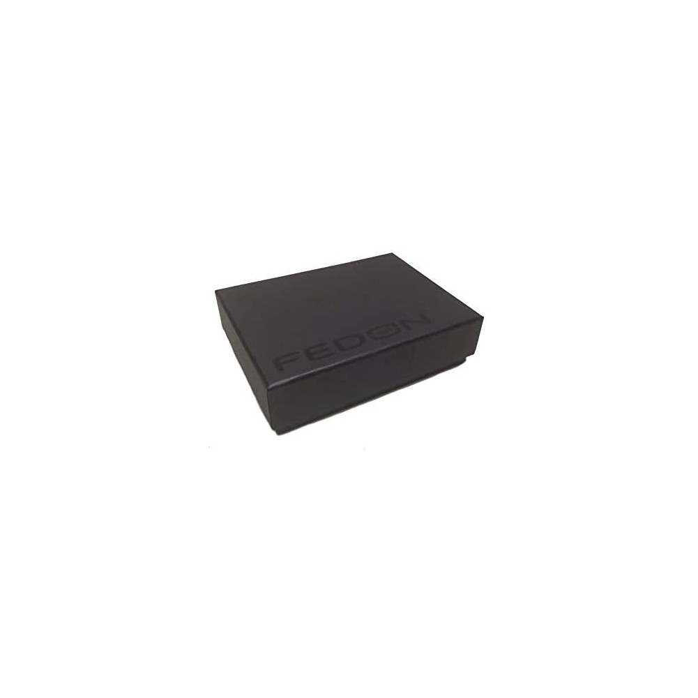 Fedon 1919 - Classica - Credit/Business Card Holder, Black - UO1930006/N
