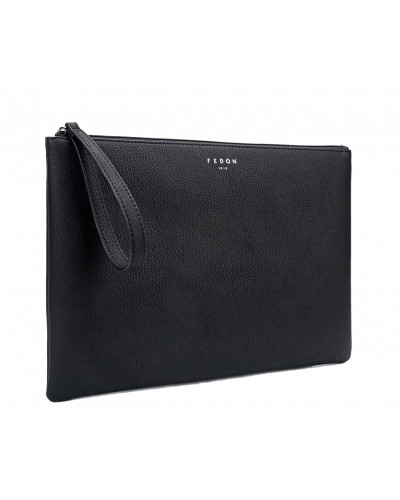 Fedon 1919 - Charme - Multifunctional pochette for documents and Tablet, Black - UA1930009/N