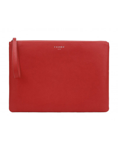 Fedon 1919 - Charme - Multifunctional pochette for documents and Tablet, Red - UA1930009/RO