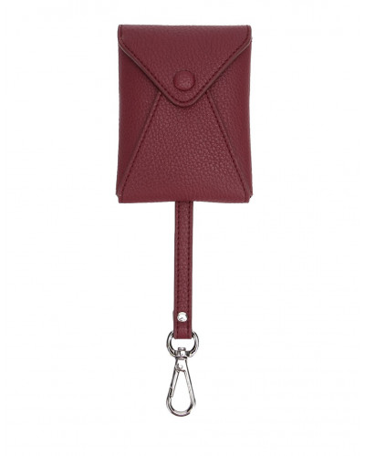Fedon 1919 - Charme - Key case with carabiner, Dark Red - UA1930004/RS